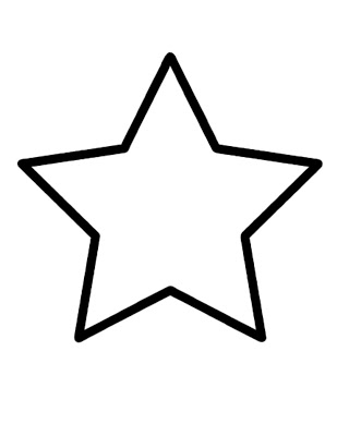 star shape coloring page shape coloring pages customize and print page coloring shape star