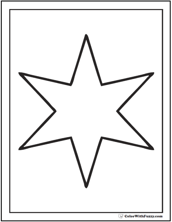 star shape coloring page star outline printable coloring home page shape coloring star