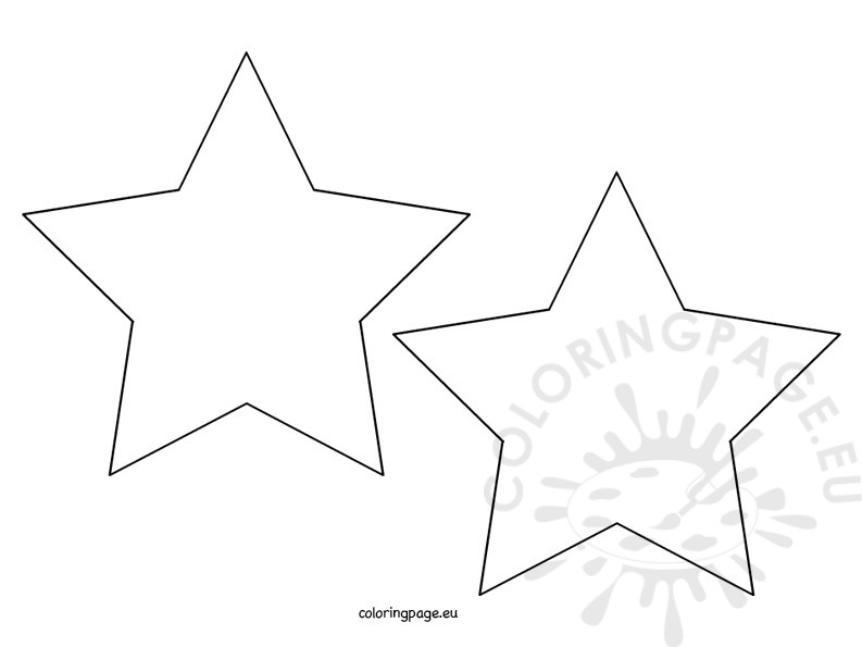 star shape coloring page trace and color the star coloring page twisty noodle shape star page coloring