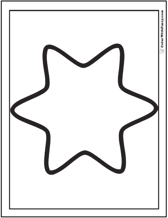 star shape coloring page yellow star flashcard the learning site page star shape coloring