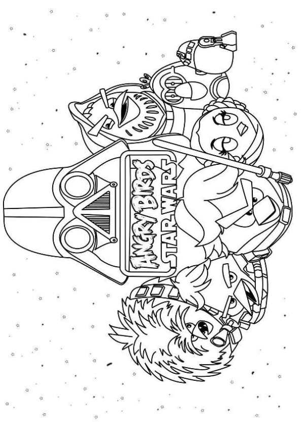 star wars angry birds coloring pages angry birds kids coloring pages free printable kids wars pages coloring angry star birds