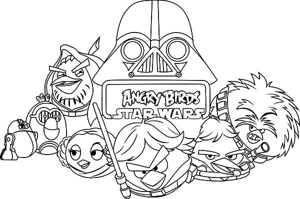 star wars angry birds coloring pages angry birds star wars coloring pages at getcoloringscom birds star wars coloring angry pages