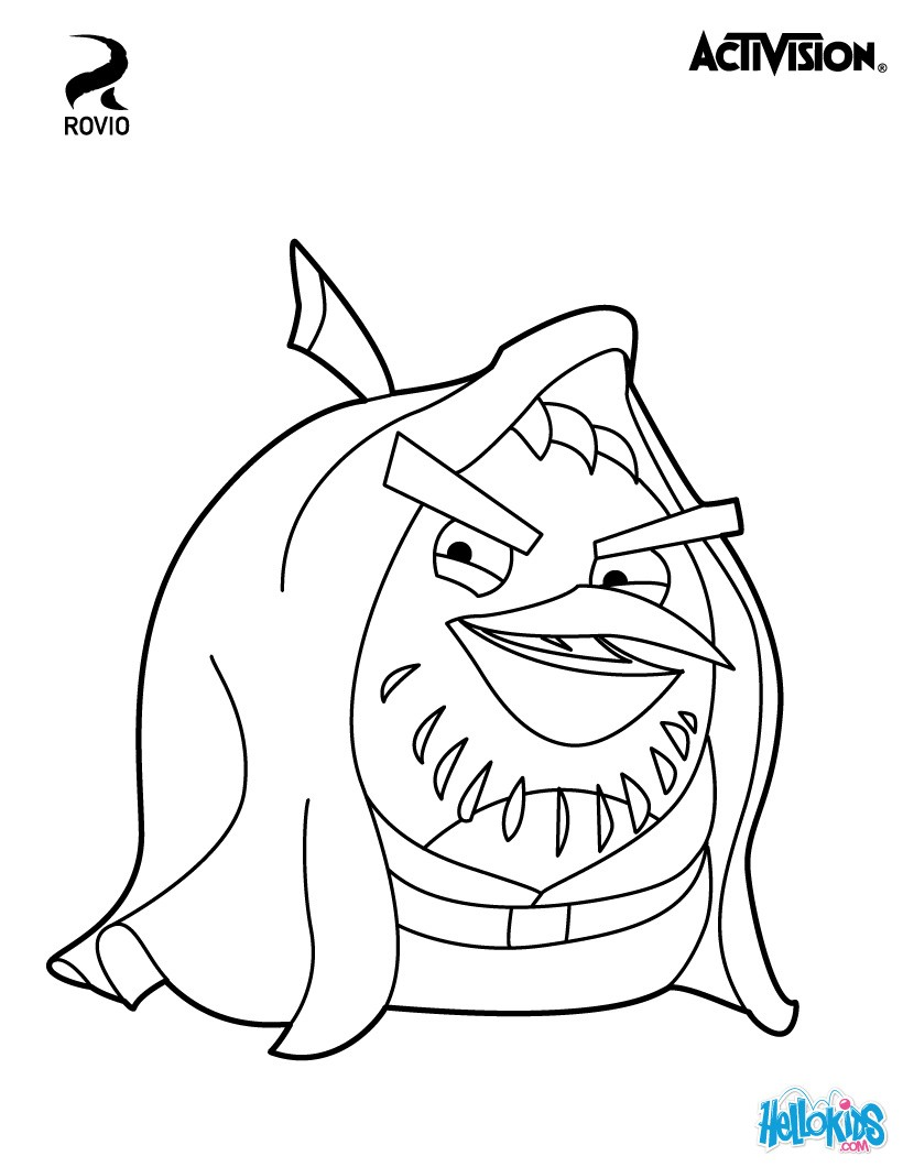 star wars angry birds coloring pages star wars angry birds coloring pages wars birds angry coloring pages star