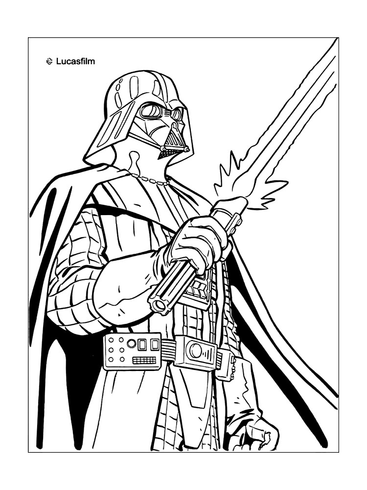 star wars coloring pages darth vader darth vader coloring pages to download and print for free coloring wars darth star pages vader