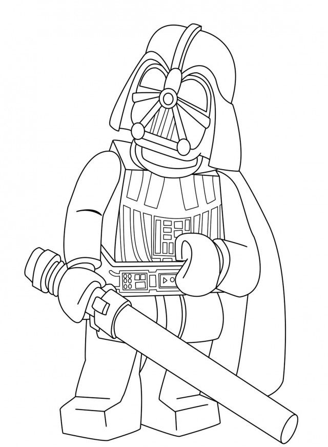 star wars coloring pages darth vader the terrifying darth vader with light saber in star wars star coloring vader pages wars darth