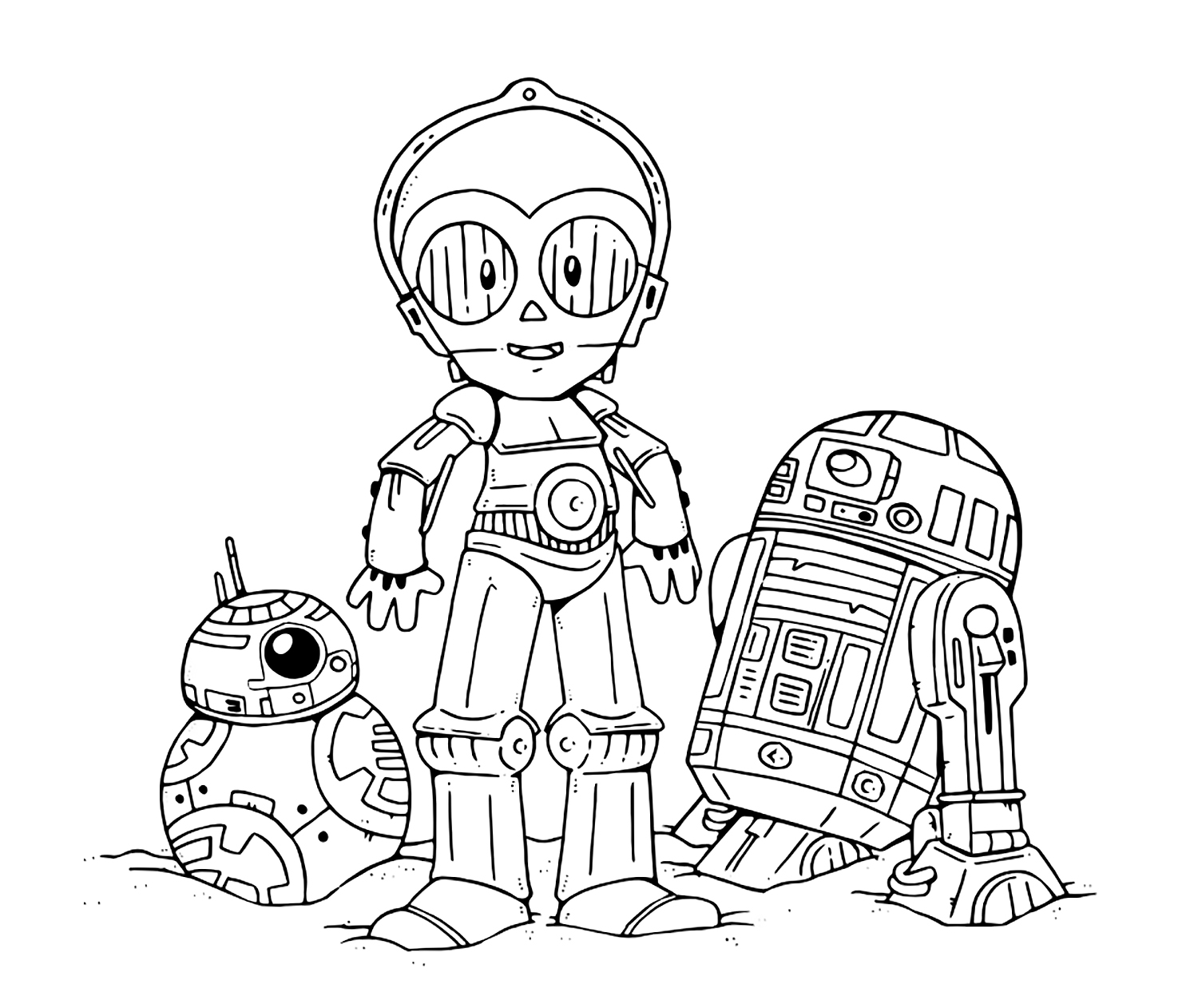 star wars free coloring pages c3po coloring page at getcoloringscom free printable coloring wars free star pages