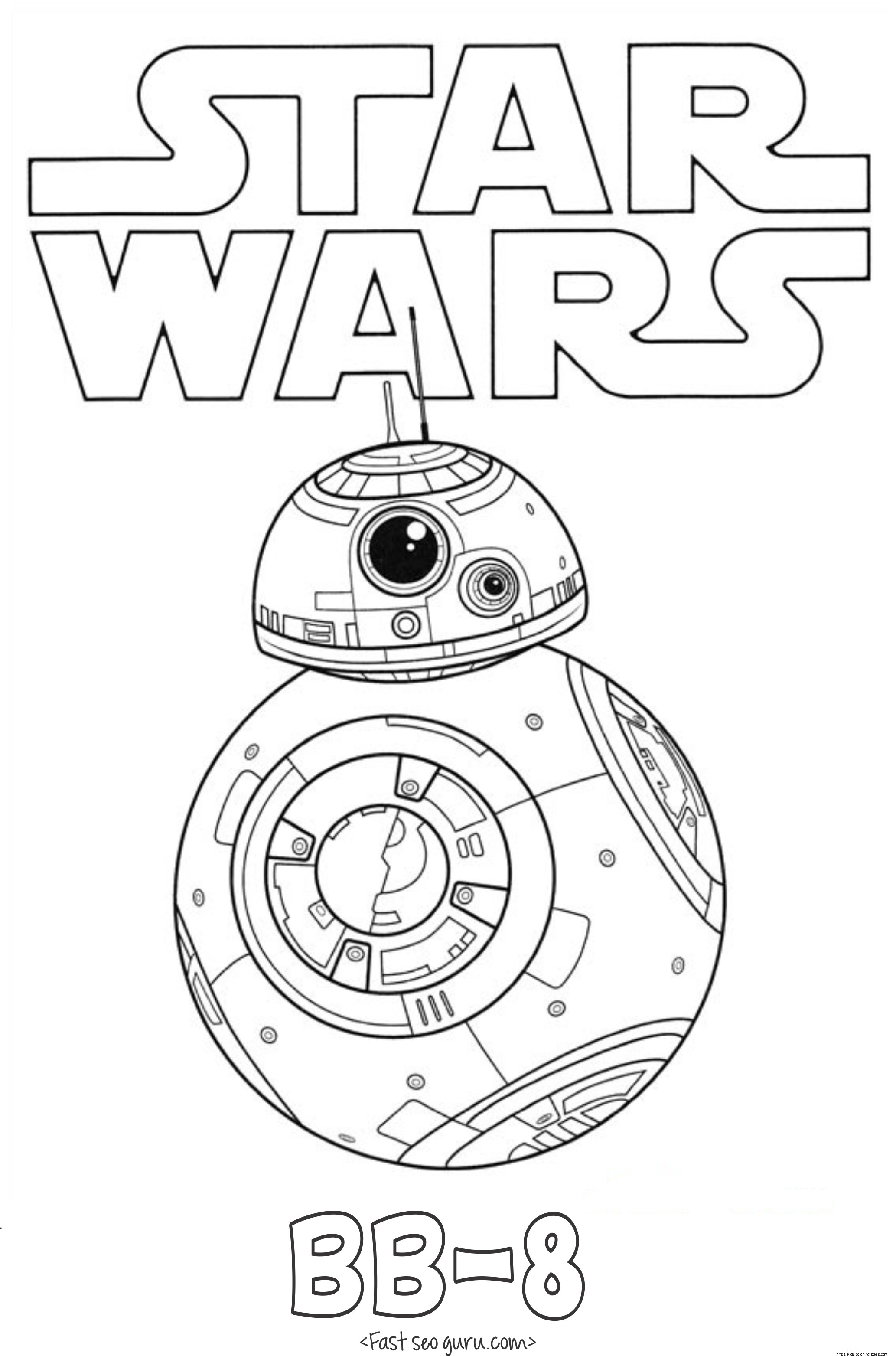 Star wars pictures to color