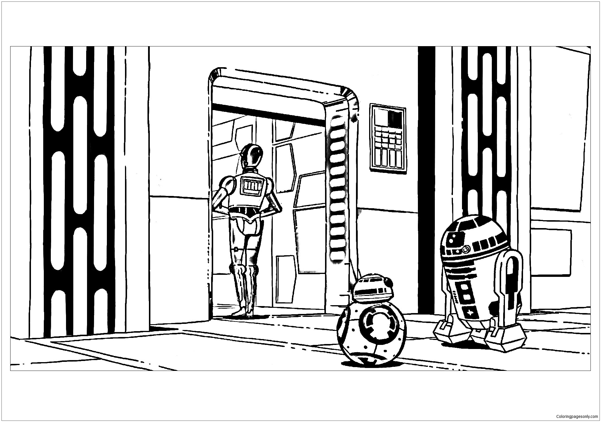 star wars robot coloring pages robot coloring page for boys topcoloringpagesnet pages robot wars coloring star