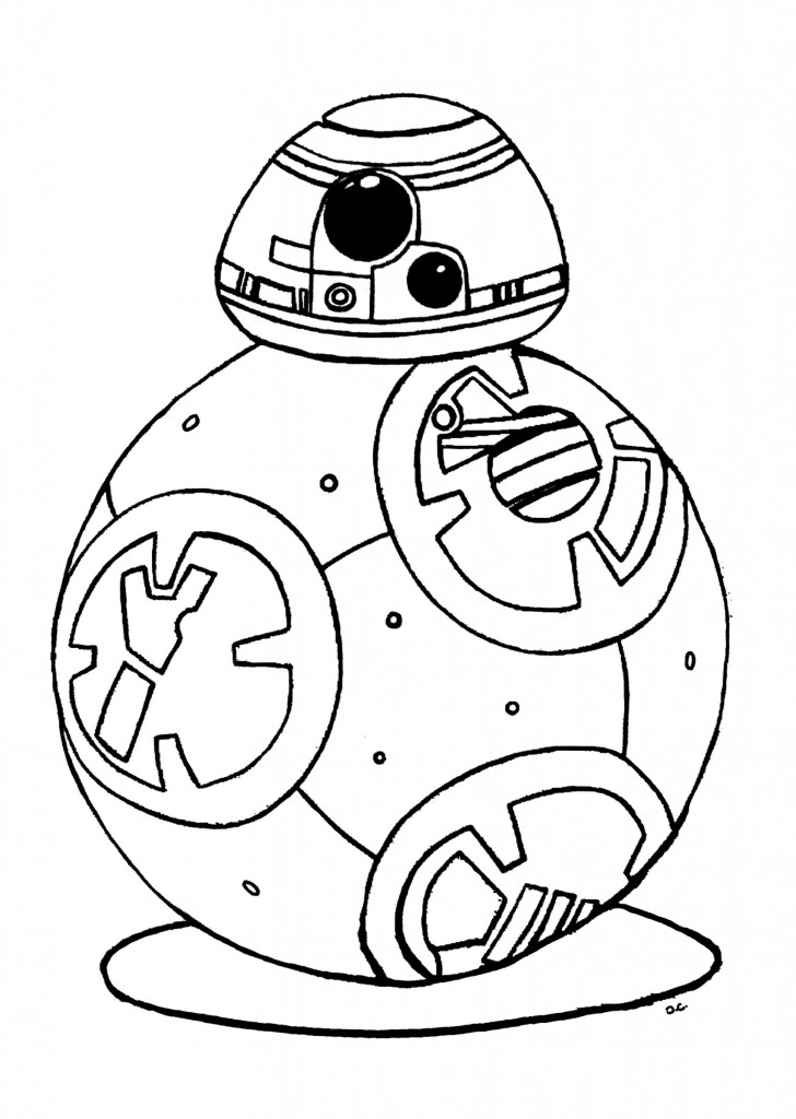 Star wars robot coloring pages