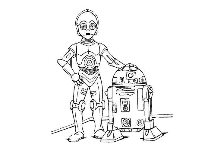 star wars robot coloring pages trade federation robots coloring pages hellokidscom wars robot coloring pages star