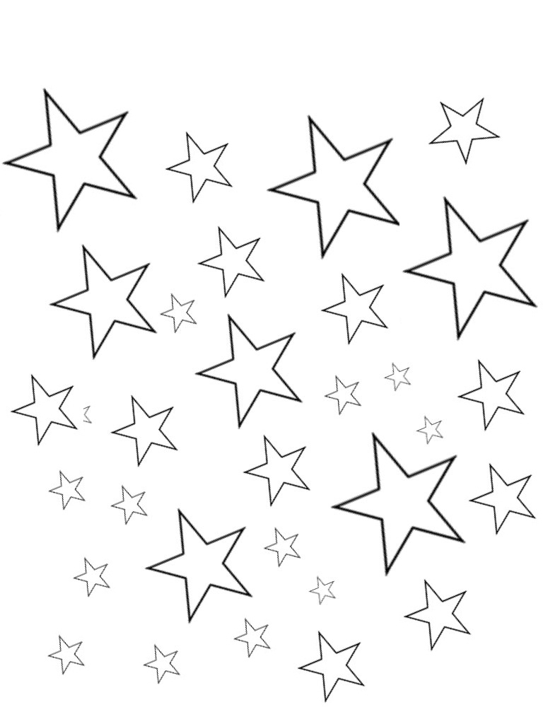 stars for coloring sky coloring page at getcoloringscom free printable for stars coloring