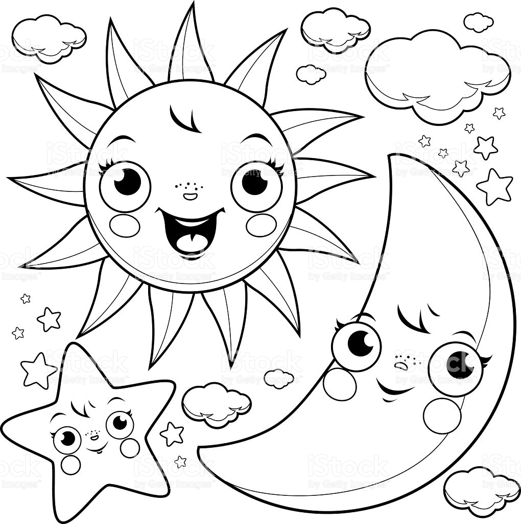 stars for coloring star coloring book for kids cheerful character vector coloring stars for