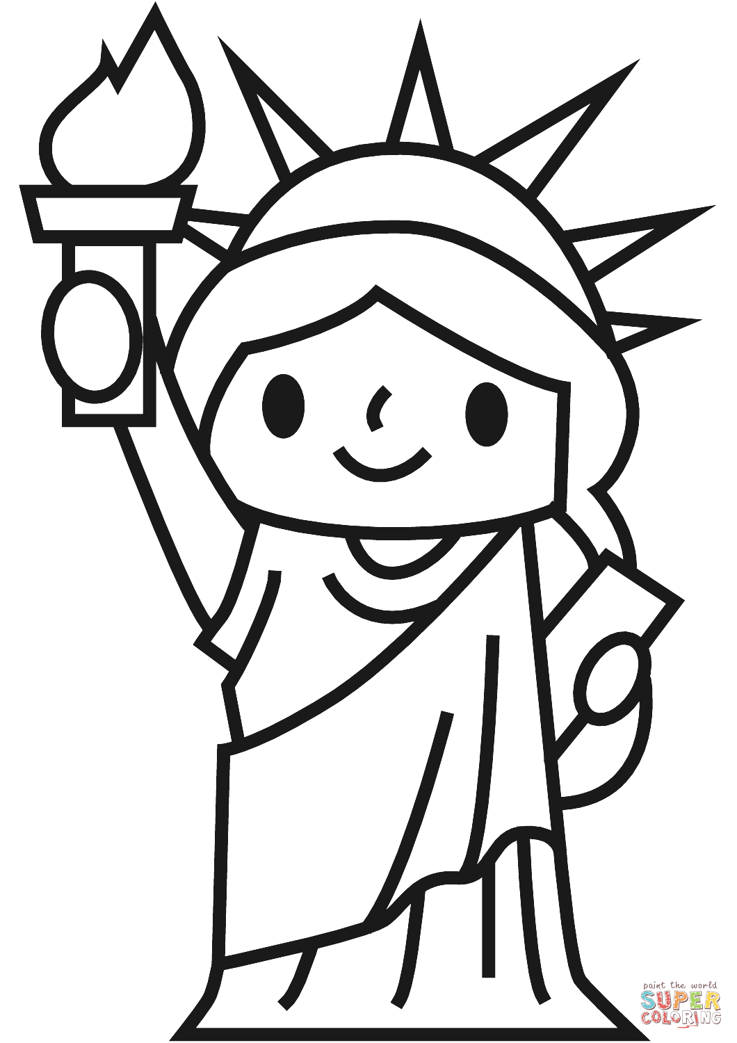 statue of liberty drawing easy collection of statue of liberty clipart free download statue of easy drawing liberty