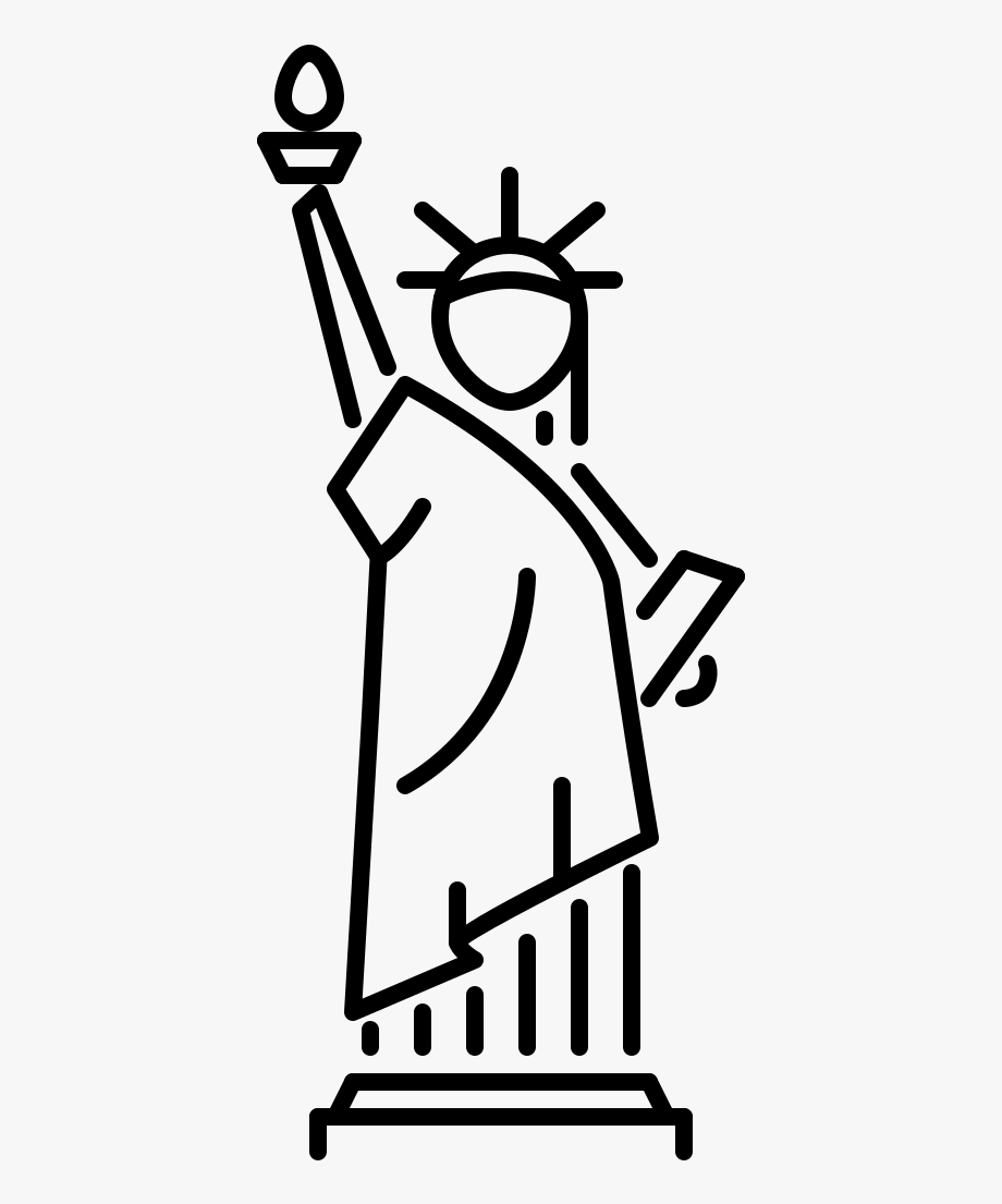 statue of liberty drawing easy outside the box how i taught first graders to draw the of statue drawing liberty easy