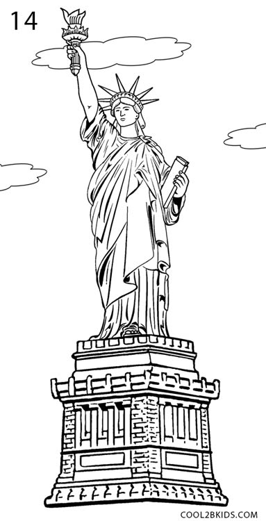 statue of liberty drawing easy statue of liberty black and white drawing at liberty of drawing statue easy