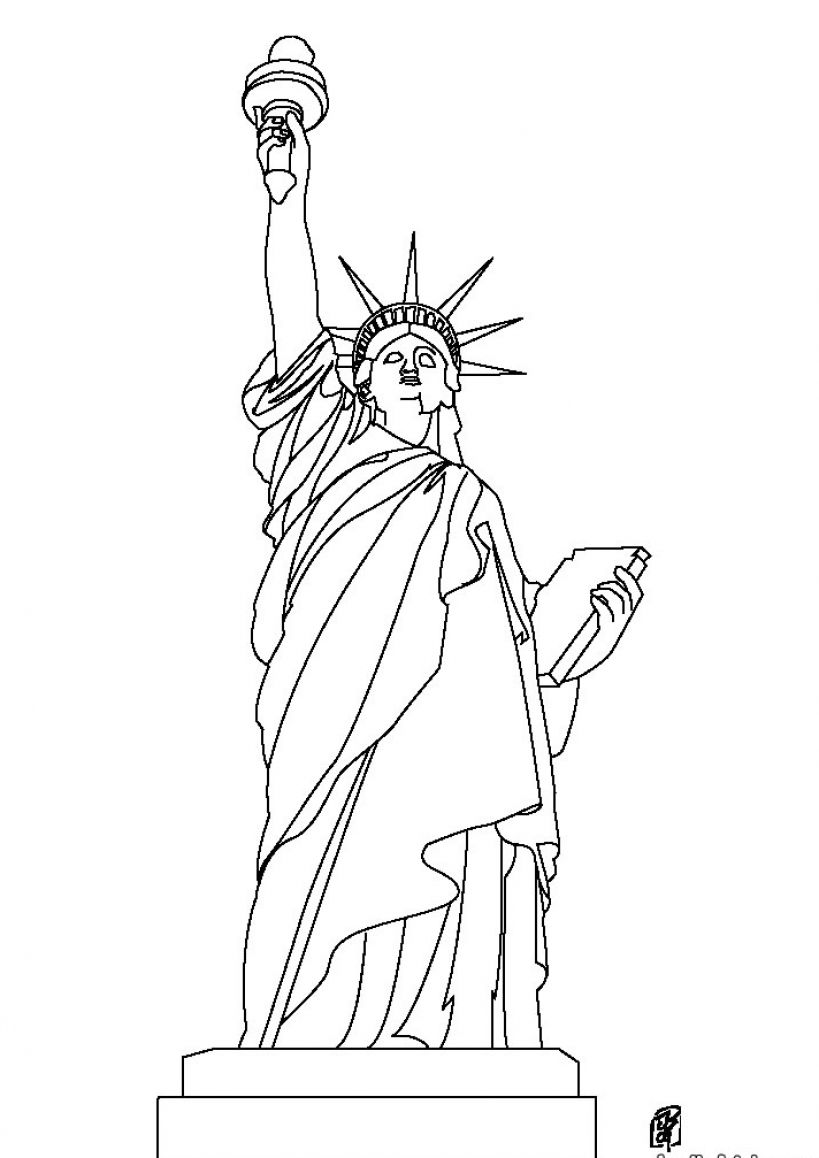 statue of liberty drawing easy statue of liberty drawing easy at paintingvalleycom liberty of statue drawing easy