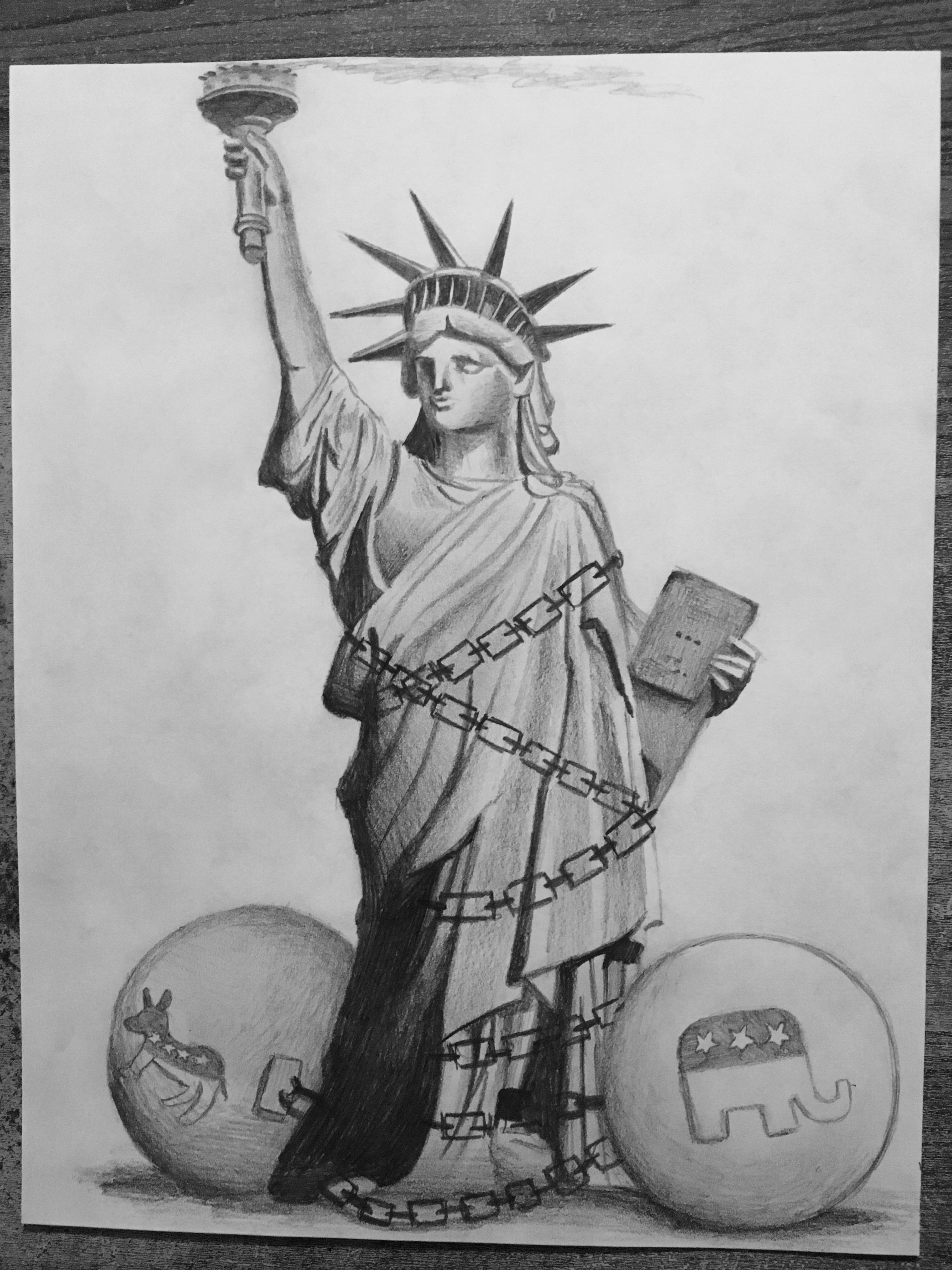 statue of liberty pencil drawing download high quality statue of liberty clipart sketch liberty pencil drawing of statue