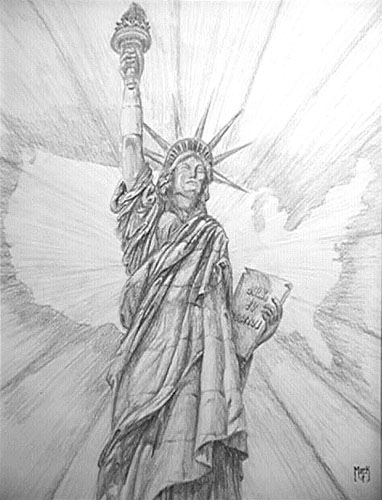 statue of liberty pencil drawing pin by dani wilson on a a another awesome painting with of liberty drawing statue pencil
