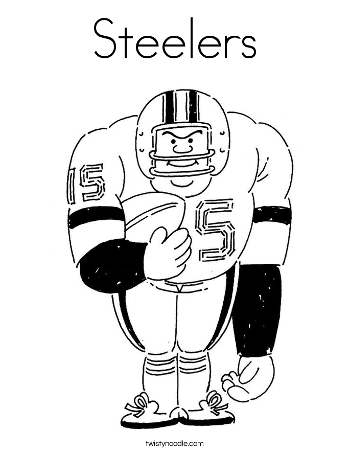 steeler coloring pages chicago bears symbol pictures coloring home steeler coloring pages
