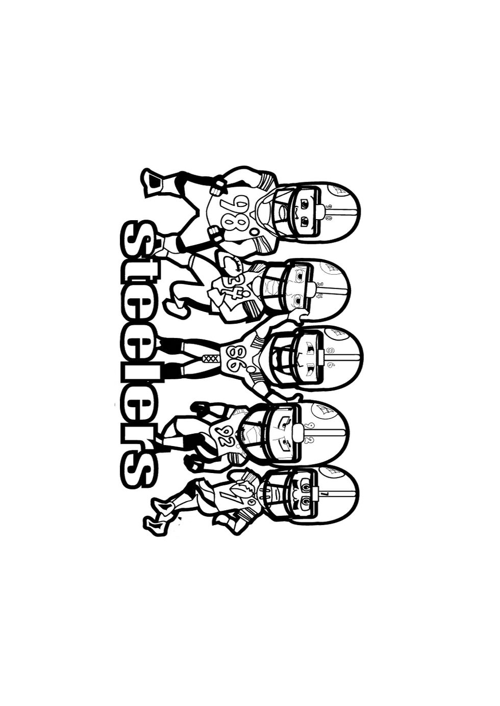 steeler coloring pages free steelers coloring pages for 2017 skybacher39s locker pages coloring steeler