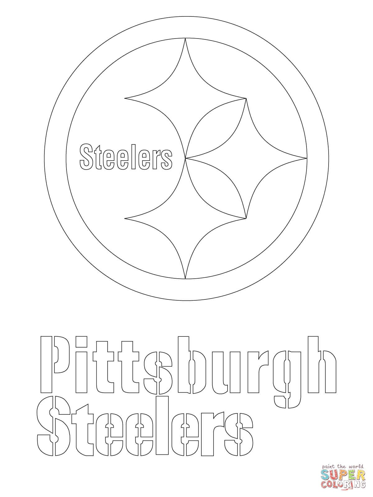 steeler coloring pages nfl coloring pages steeler pages coloring