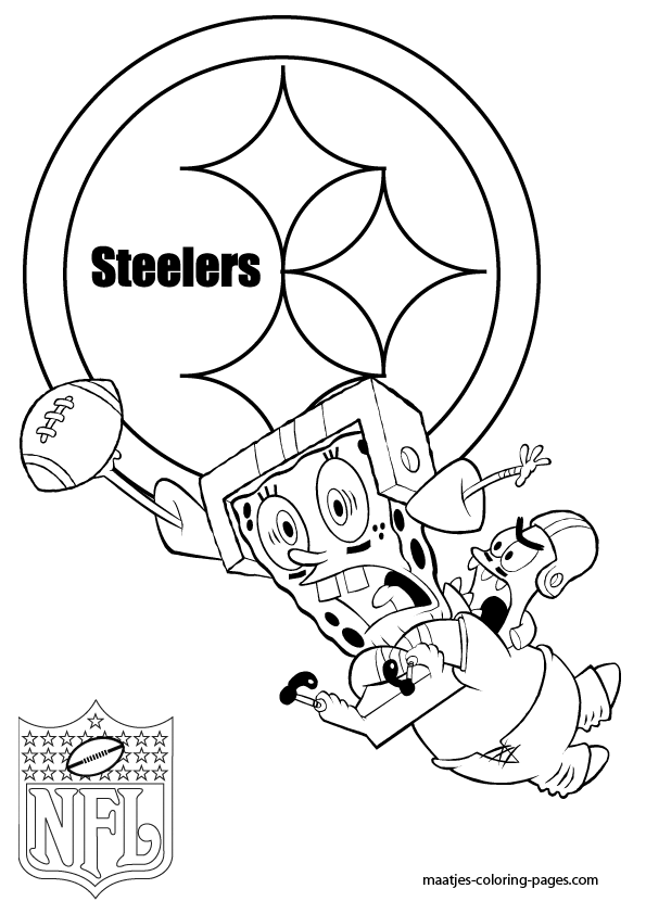 steeler coloring pages pittsburgh steelers coloring pages coloring home steeler coloring pages