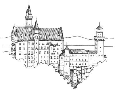 step by step how to draw a castle 3d castle drawing at getdrawings free download step how castle a by step to draw