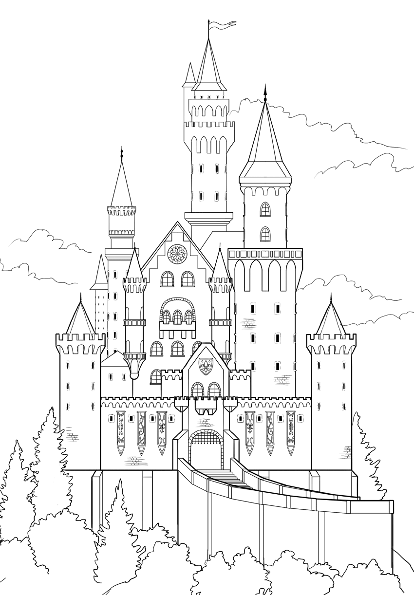 step by step how to draw a castle how to draw a castle castle a how step to draw step by