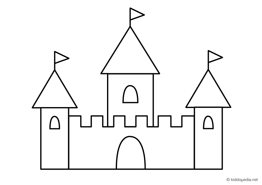 step by step how to draw a castle how to draw a castle step by step castle drawing for kids by step how a to castle step draw