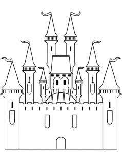 step by step how to draw a castle simple castle coloring pages castle coloring sheet castle by to draw step step a how