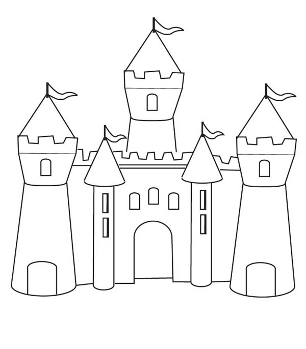 step by step how to draw a castle simple castle drawing at paintingvalleycom explore step a to step how draw castle by