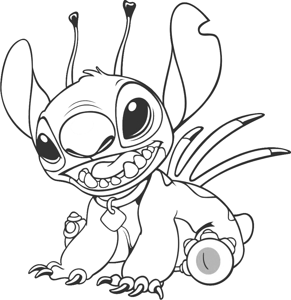 stitch color stitch coloring pages for 2019 educative printable stitch color