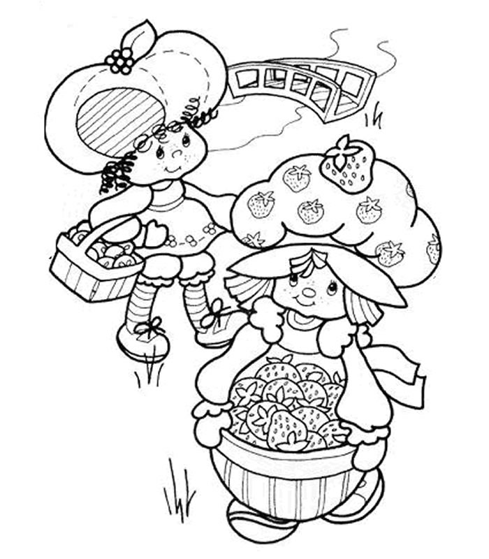 strawberry shortcake coloring games raspberry torte and chiffon cute coloring pages disney strawberry coloring shortcake games