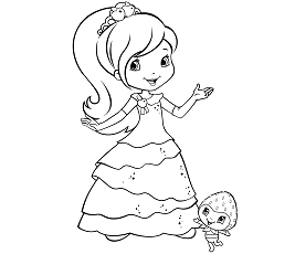 strawberry shortcake coloring games strawberry shortcake and friends coloring page coloring sky games strawberry shortcake coloring