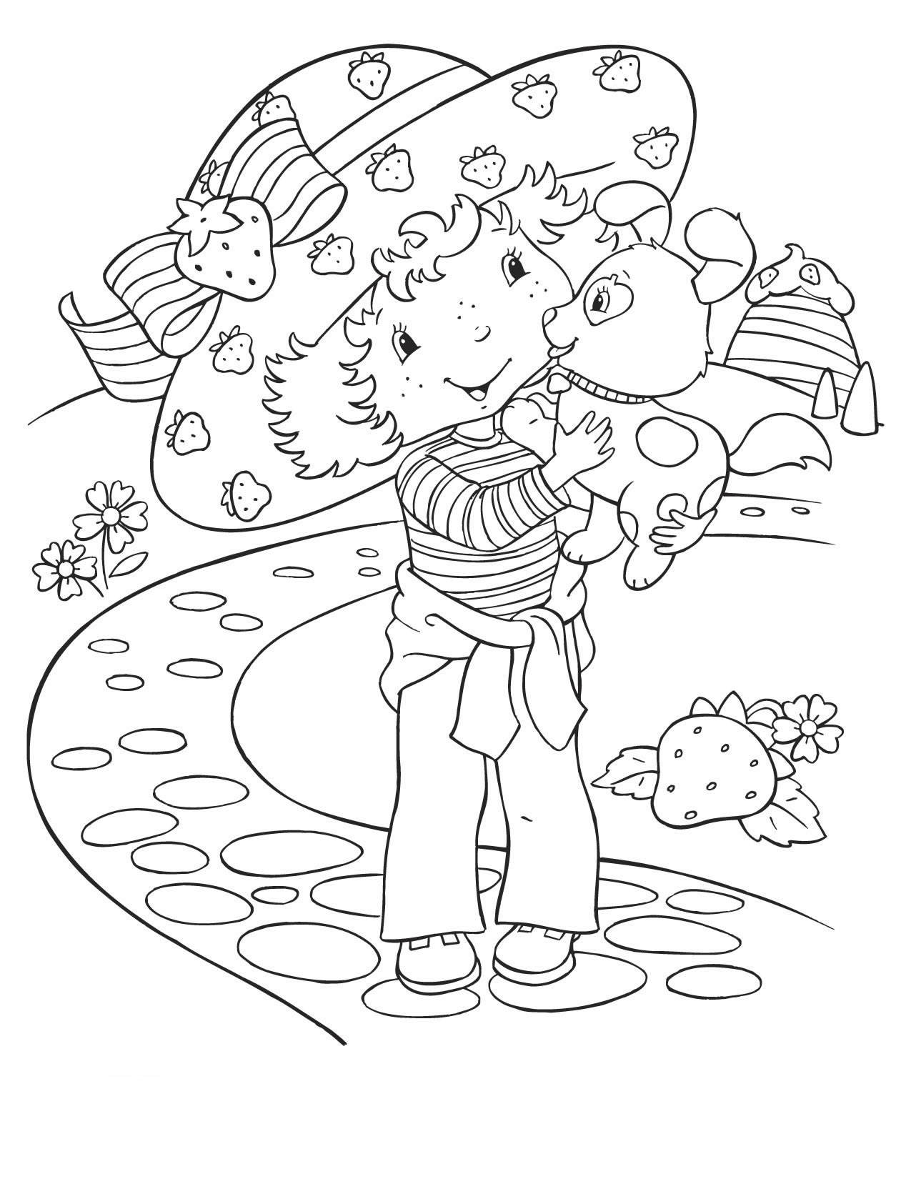strawberry shortcake coloring games strawberry shortcake and friends coloring pages games shortcake strawberry coloring games