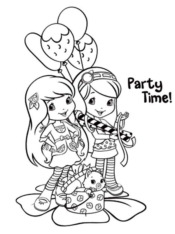 strawberry shortcake coloring games strawberry shortcake with custard and butterfly coloring strawberry games coloring shortcake