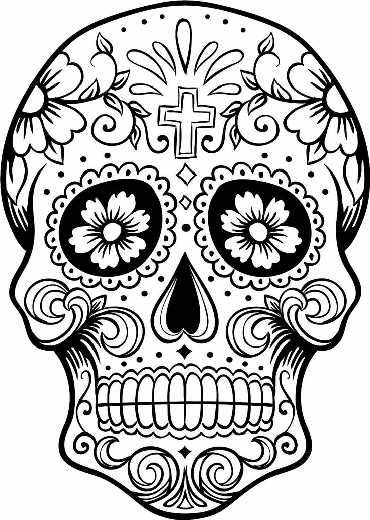 sugar skulls coloring pages print download sugar skull coloring pages to have coloring sugar skulls pages