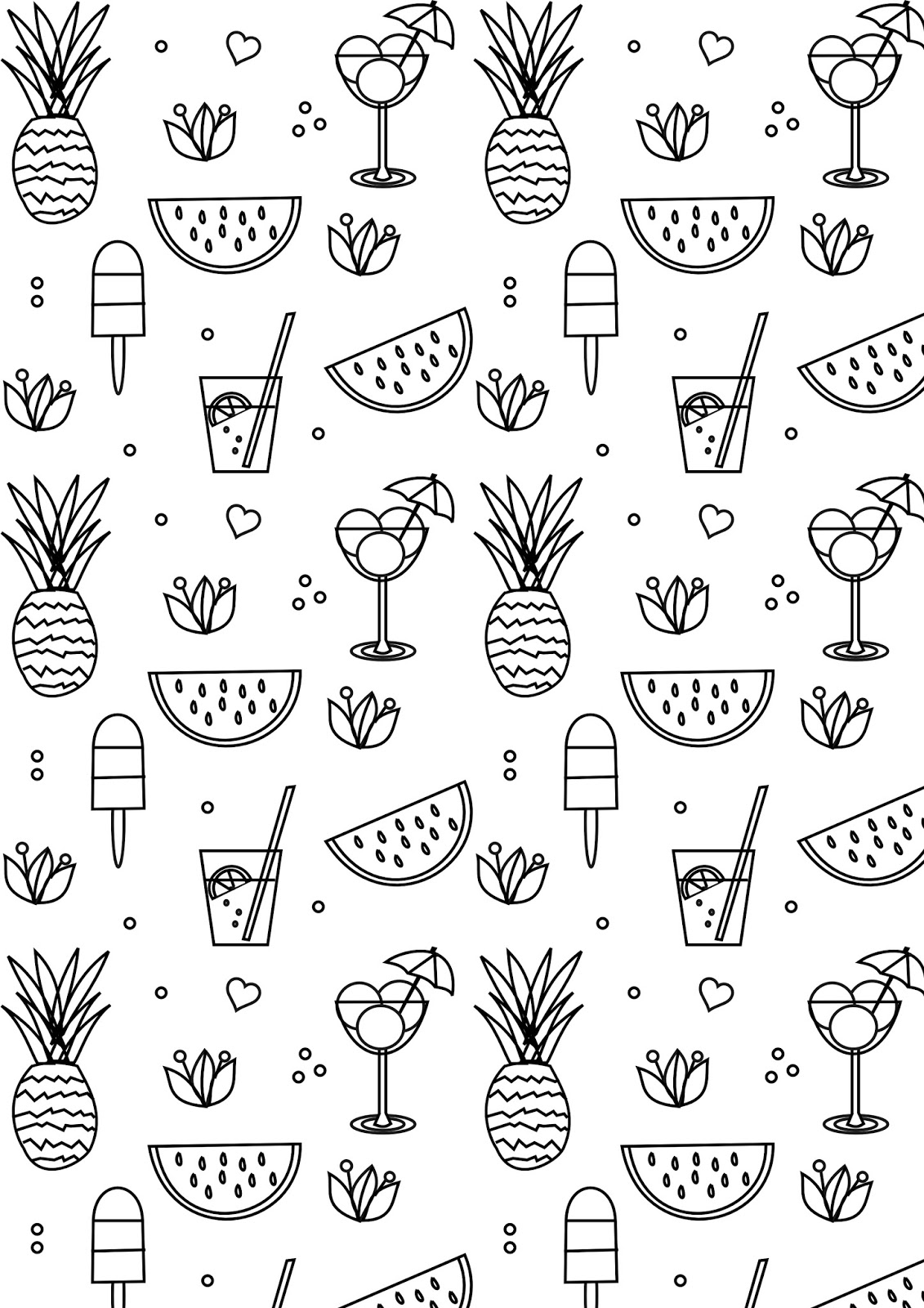 summer color sheets download free printable summer coloring pages for kids sheets summer color 1 1