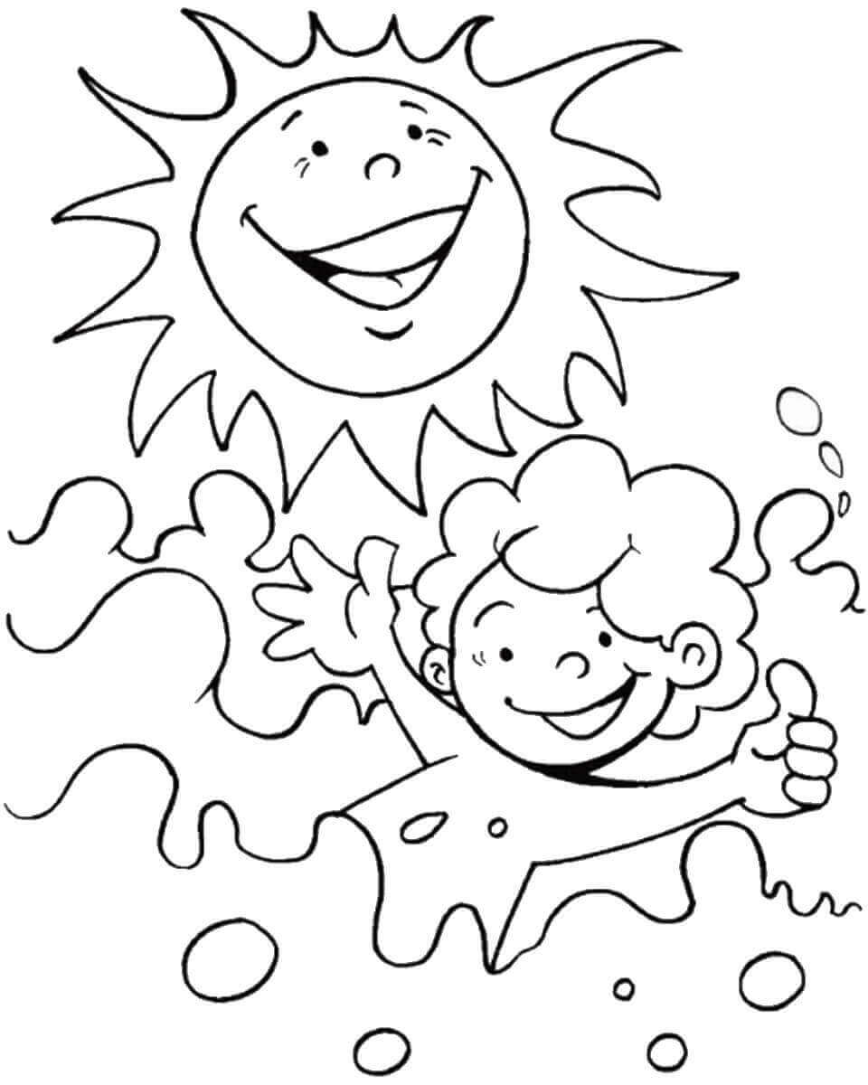summer color sheets summer coloring pages for girls free large images summer sheets color