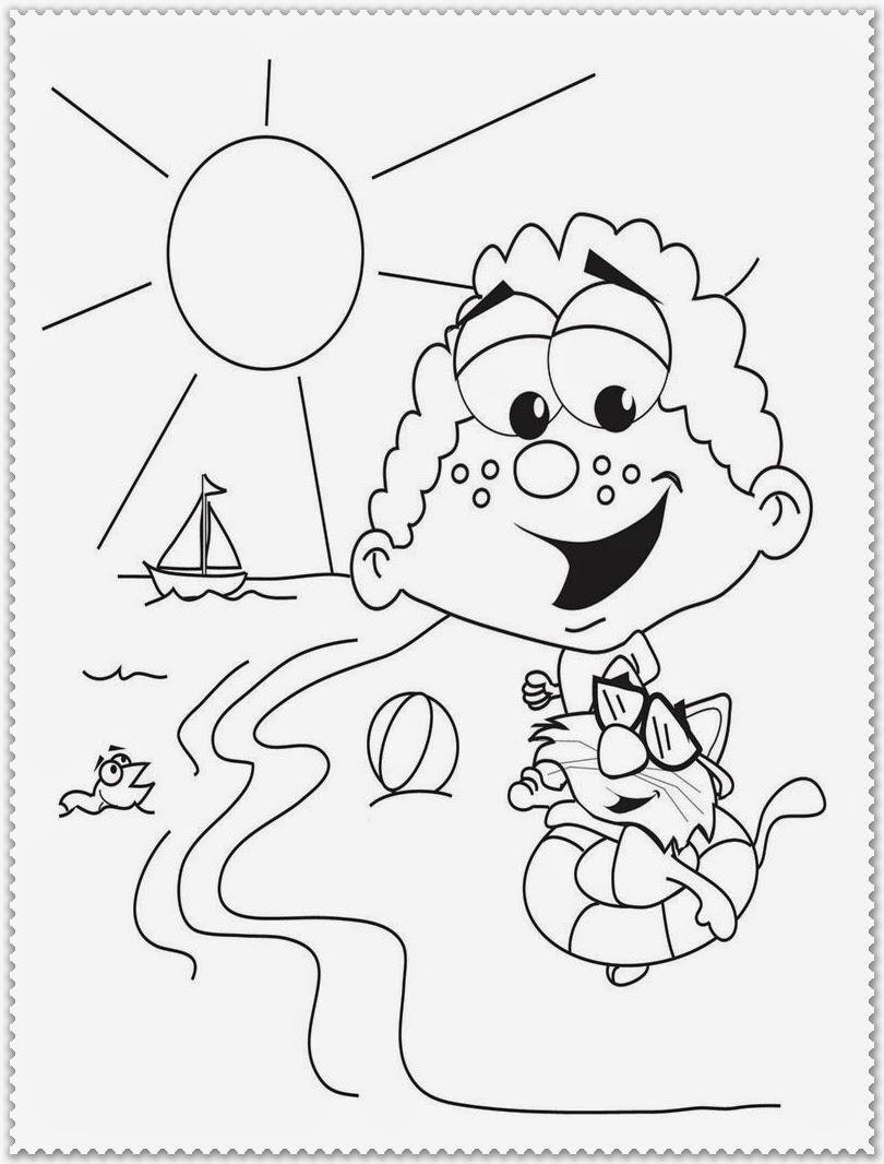summer coloring sheets free easy to print summer coloring pages tulamama sheets coloring summer