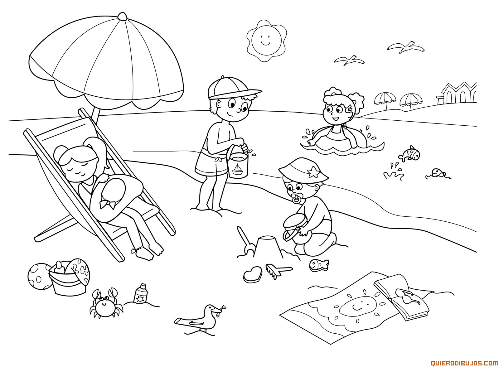summer coloring sheets summer coloring pages print summer pictures to color at coloring summer sheets