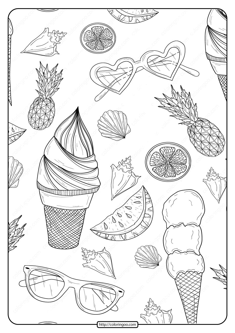 summer coloring sheets summer fun coloring pages to download and print for free summer coloring sheets