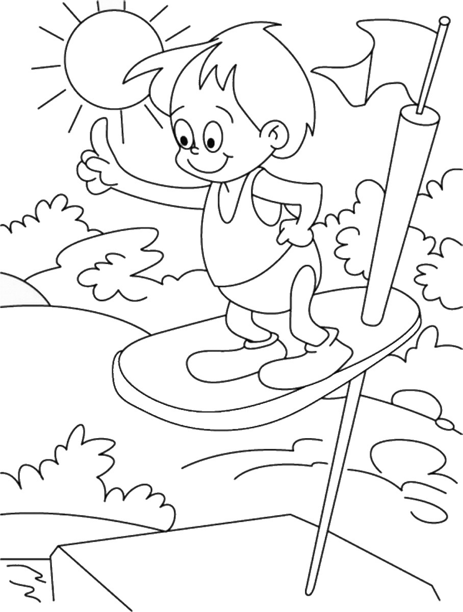 summer holiday coloring pages summer holiday coloring pages coloringpages1001com pages holiday coloring summer