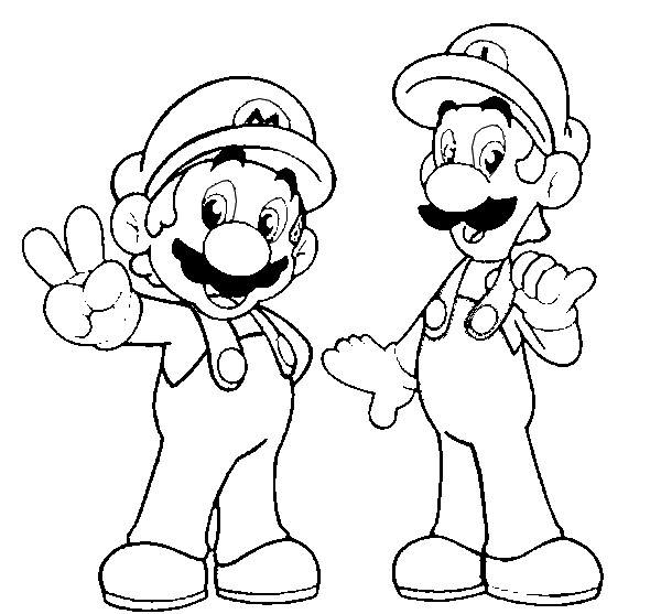 super mario pictures mario coloring pages free printable brothers for kids pictures super mario