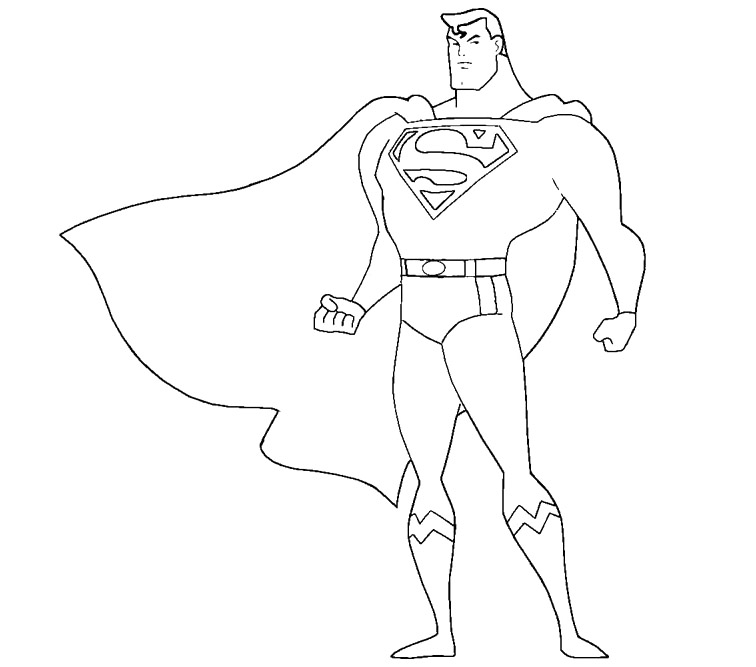 superman cartoon pictures for colouring 17 best images about 4 kids coloring pages on pinterest colouring cartoon for superman pictures