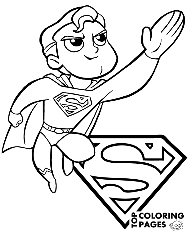 superman cartoon pictures for colouring superman color page cartoon color pages printable colouring for cartoon superman pictures