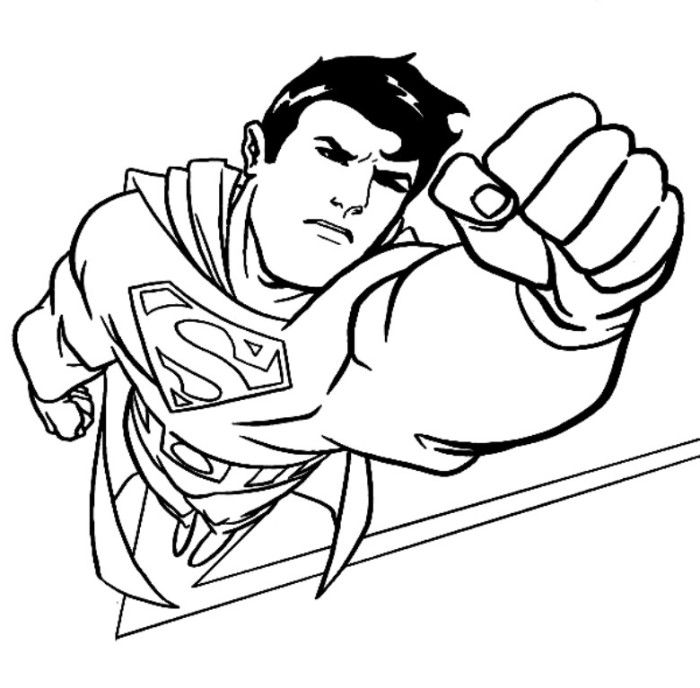 superman cartoon pictures for colouring superman coloring pages coloring pages to download and print pictures cartoon superman for colouring