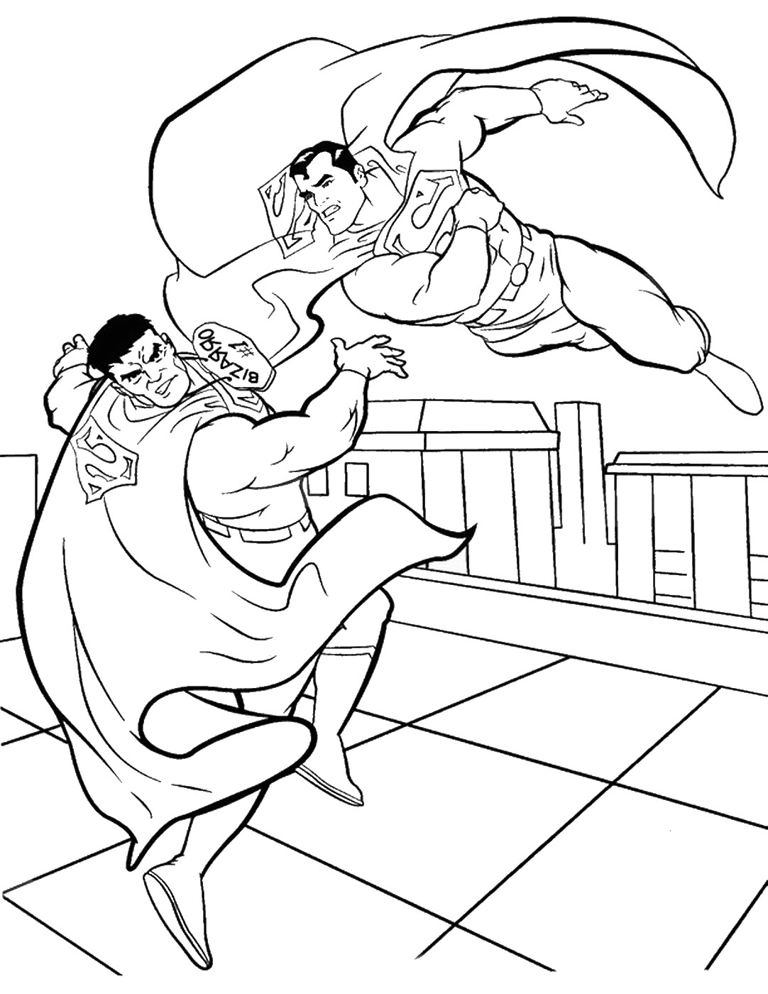 superman cartoon pictures for colouring superman coloring pages to download and print for free cartoon for superman pictures colouring