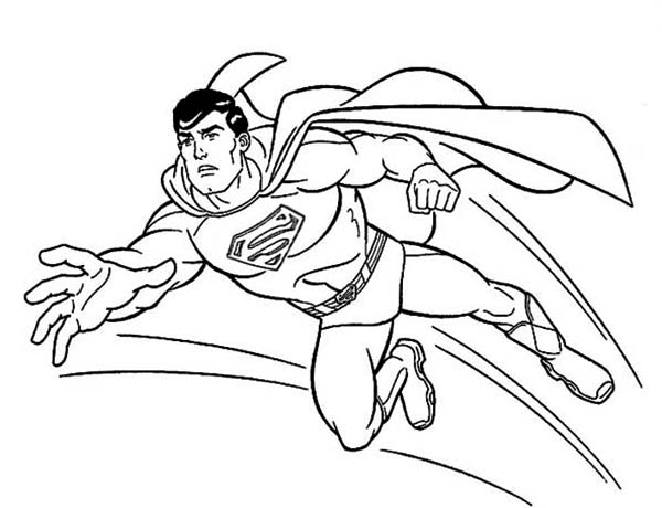 superman cartoon pictures for colouring superman pics animated coloring home superman cartoon for pictures colouring