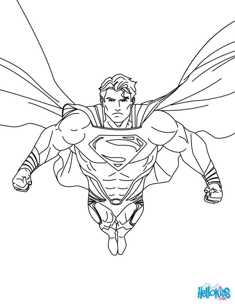 superman color pages free easy to print superman coloring pages tulamama pages superman color